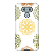Yellow Mandala Flower LG G5, G6, G7 Tough Case