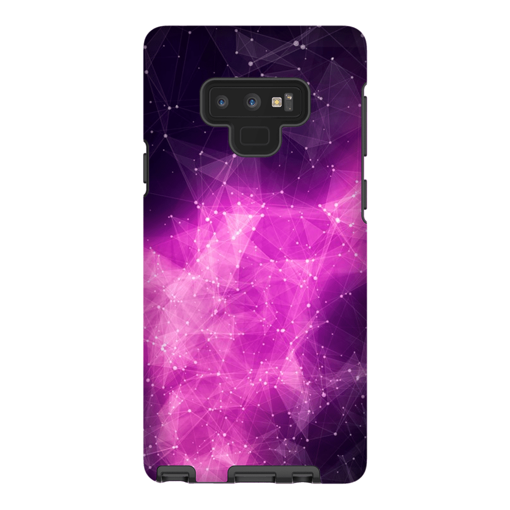 Purple Nebula Galaxy Note 9 Tough Case - Purdycase