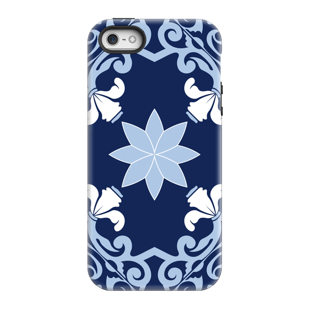 Blue Star Moroccan iPhone 5/5s/SE Tough Case - Purdycase