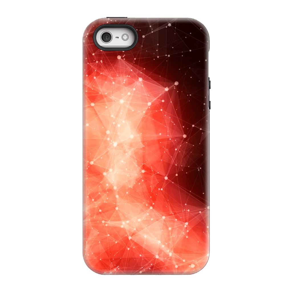 Orange Nebula Space iPhone 5/5s/SE Tough Case - Purdycase