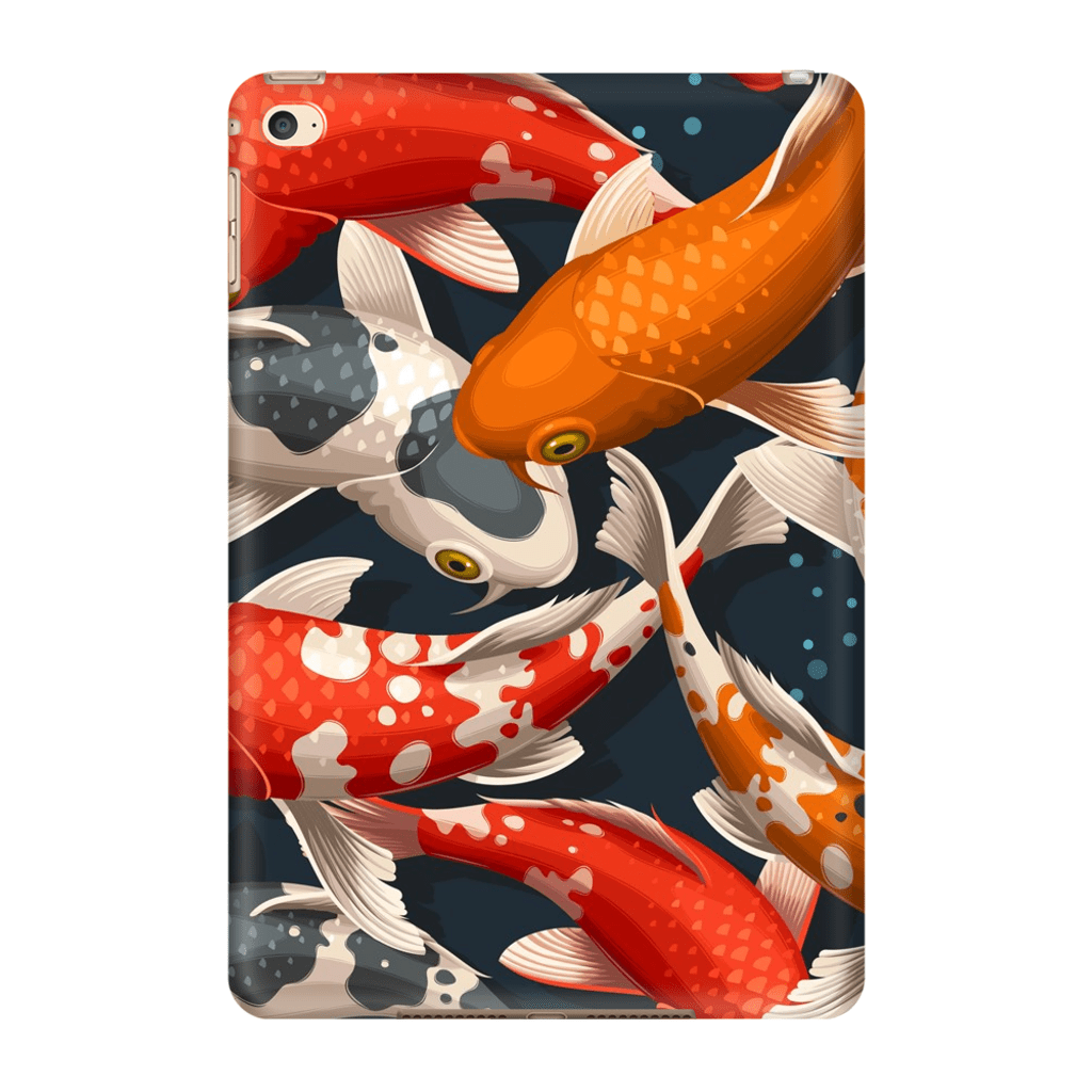 Japanese Koi  iPad 3/4, iPad Mini 1 and iPad Mini 4 Tablet Case - Purdycase
