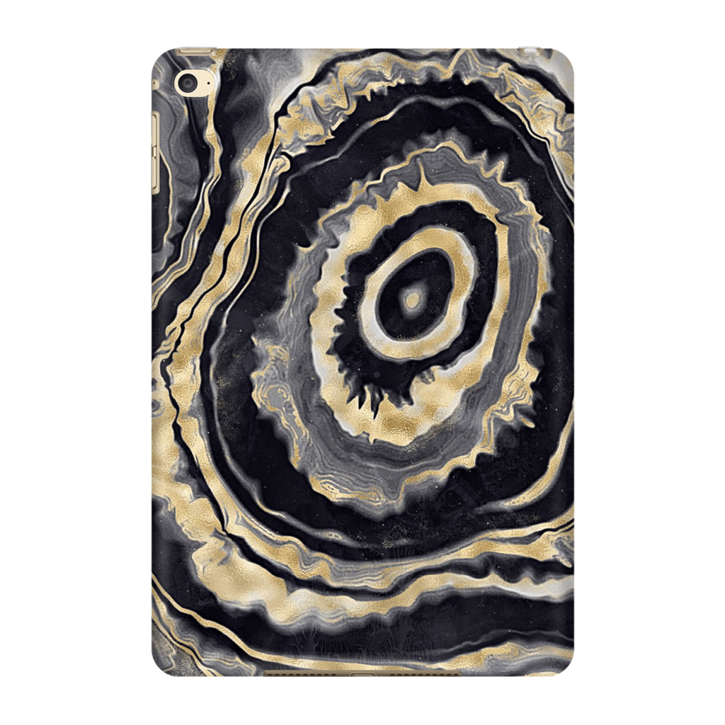 Agate Gold iPad 3/4, iPad Mini 1 and iPad Mini 4 Tablet Case - Purdycase