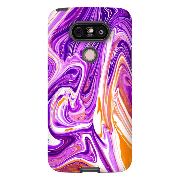 Purple Haze Abstract LG 5, LG6, LG7 Tough Case