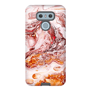 Orange Abstract LG 5, LG6, LG7 Tough Case
