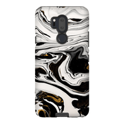 Black Gold Abstract LG 5, LG6, LG7 Tough Case