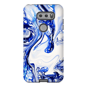 Blue Abstract LG 5, LG6, LG7 Tough Case