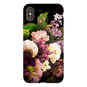 Floral Grace Flowers iPhone X-XS Tough Case - Purdycase