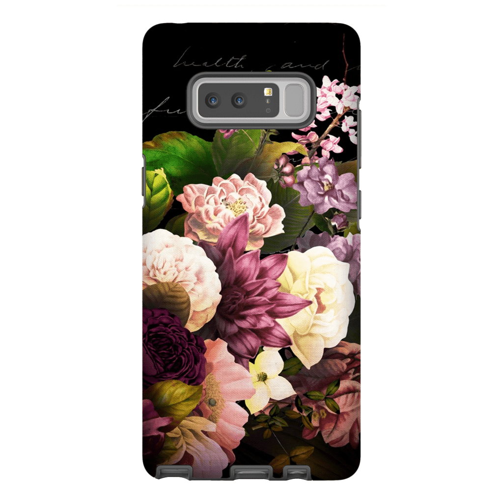 Wedding Bouquet Flowers Galaxy Note 8 and 9 Tough Case - Purdycase