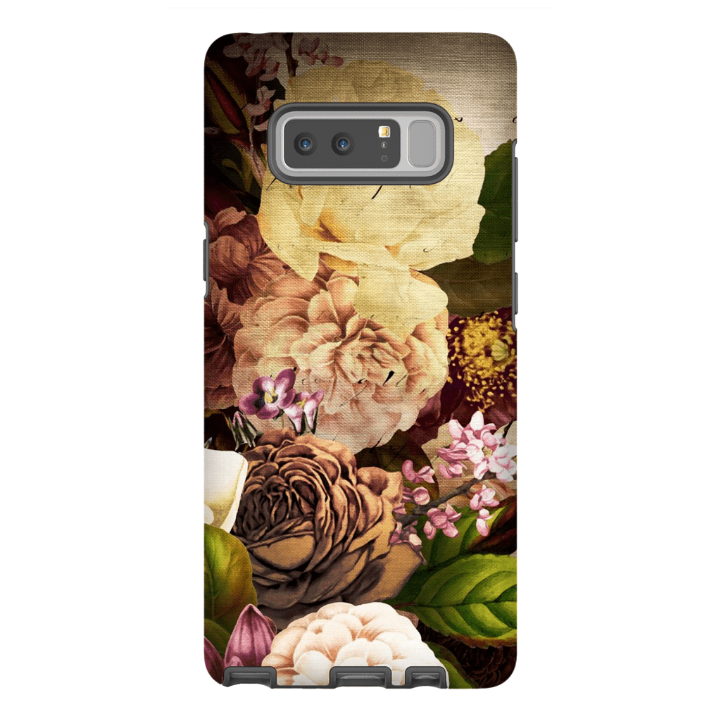 Vintage Flowers Galaxy Note 8 and 9 Tough Case - Purdycase