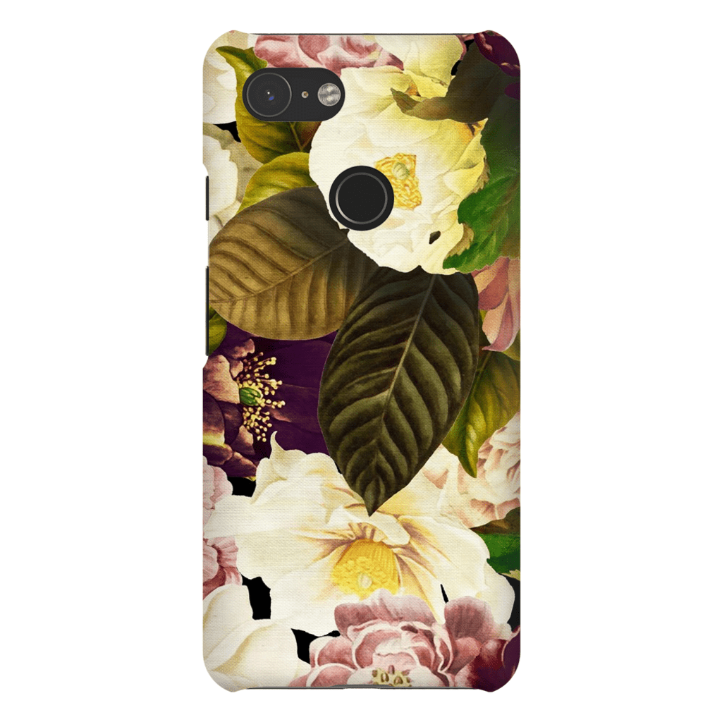 Yellow Floral Bouquet Google Pixel 3 Tough Case - Purdycase