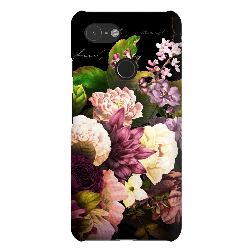 Wedding Floral Bouquet Google Pixel 3 Snap Case - Purdycase