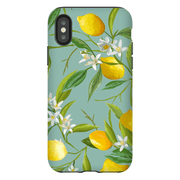 Green Lemon Tree iPhone X-XS Max Tough Case