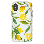 White Lemon Tree iPhone X-XS Max Tough Case