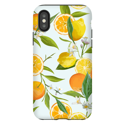 Citrus Lemon Tree iPhone X-XS Max Tough Case
