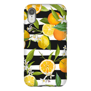 Striped Lemon Tree iPhone X-XS Max Tough Case