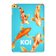 Orange Koi Fish iPad 3/4, iPad Mini 1 and iPad Mini 4 Tablet Case