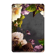Vintage Purple Floral iPad 3/4, iPad Mini 1 and iPad Mini 4 Tablet Case