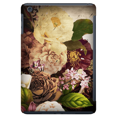 Vintage Floral Autumn iPad 3/4, iPad Mini 1 and iPad Mini 4 Tablet Case