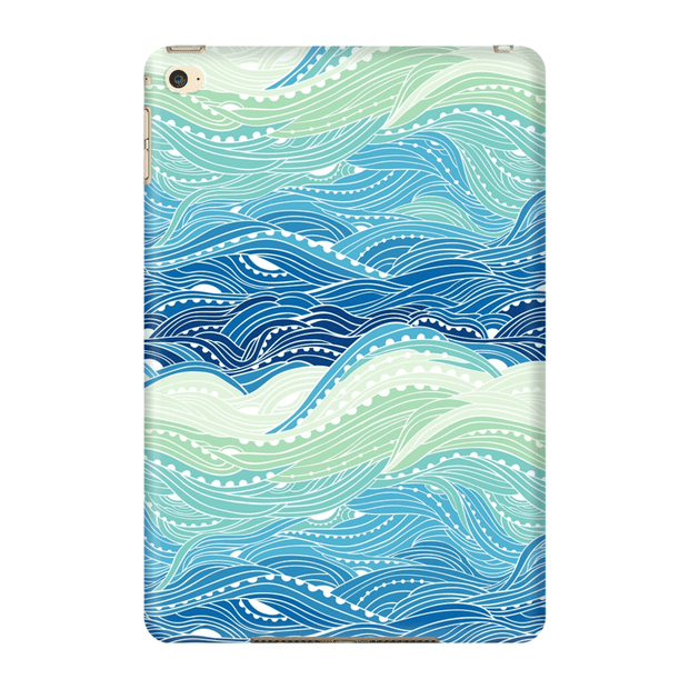 Blue Waves iPad 3/4, iPad Mini 1 and iPad Mini 4 Tablet Case