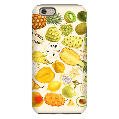 Tropical Fruit Medley iPhone 6/6 Plus and 6s/6s Plus Tough Case - Purdycase