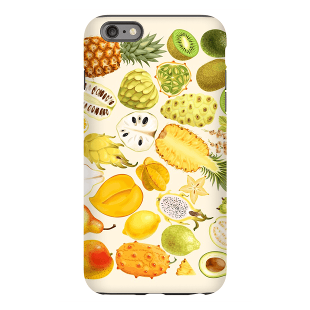 Tropical Fruit Medley iPhone 6/6 Plus and 6s/6s Plus Tough Case