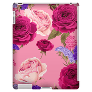 Burgundy Roses iPad 3/4, iPad Mini 1 and iPad Mini 4 Tablet Case