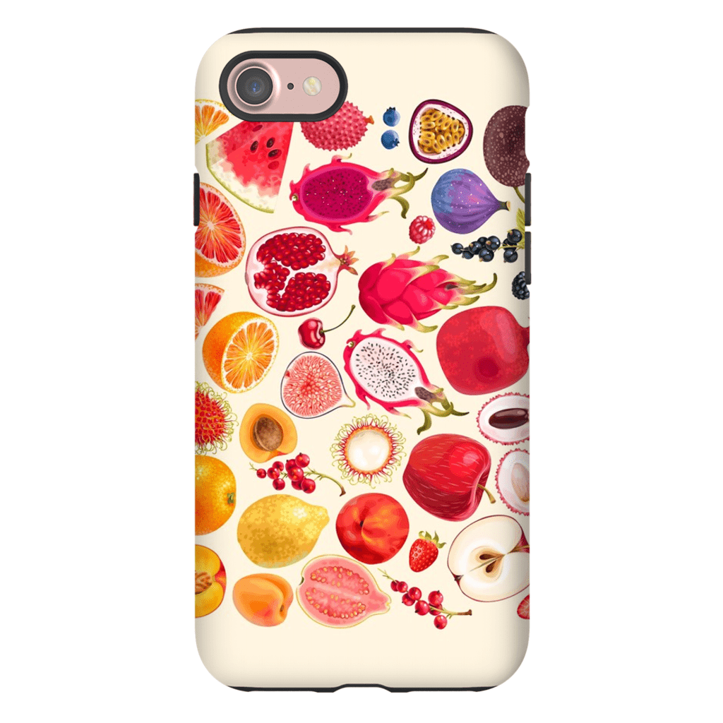 Dragon Fruit Medley iPhone 7 and 7 Plus Tough Case - Purdycase