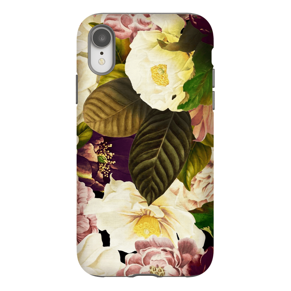 Yellow Floral Bouquet iPhone X-XS Max Tough Case - Purdycase