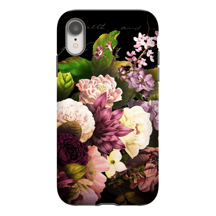 Vintage Bouquet iPhone X-XS Max Tough Case - Purdycase