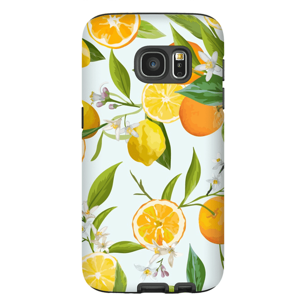 Oranges and Lemons Galaxy S7 and S7 Edge Tough Case