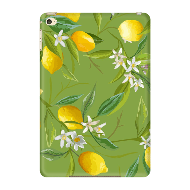 Green Lemons iPad 3/4, iPad Mini 1 and iPad Mini 4 Tablet Case