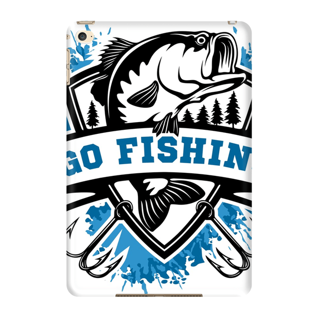 Go Bass Fishing iPad 3/4, iPad Mini 1 and iPad Mini 4 Tablet Case