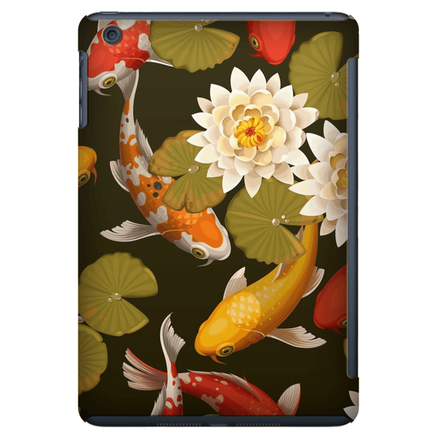 Lily Koi Pond iPad 3/4, iPad Mini 1 and iPad Mini 4 Tablet Case
