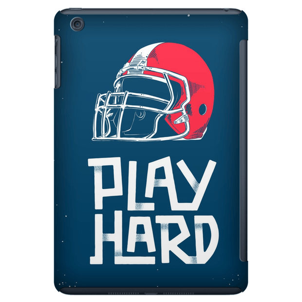 Football Play Hard iPad 3/4, iPad Mini 1 and iPad Mini 4 Tablet Case