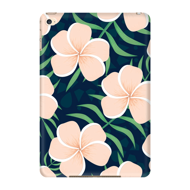 Peach Plumeria iPad 3/4, iPad Mini 1 and iPad Mini 4 Tablet Case