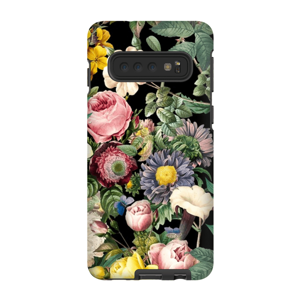 Multi-Color Rose Bush Galaxy 10 Series Tough Case - Purdycase