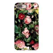 Pink Rose Bush iPhone 5SE-8 Plus Series Tough Cases