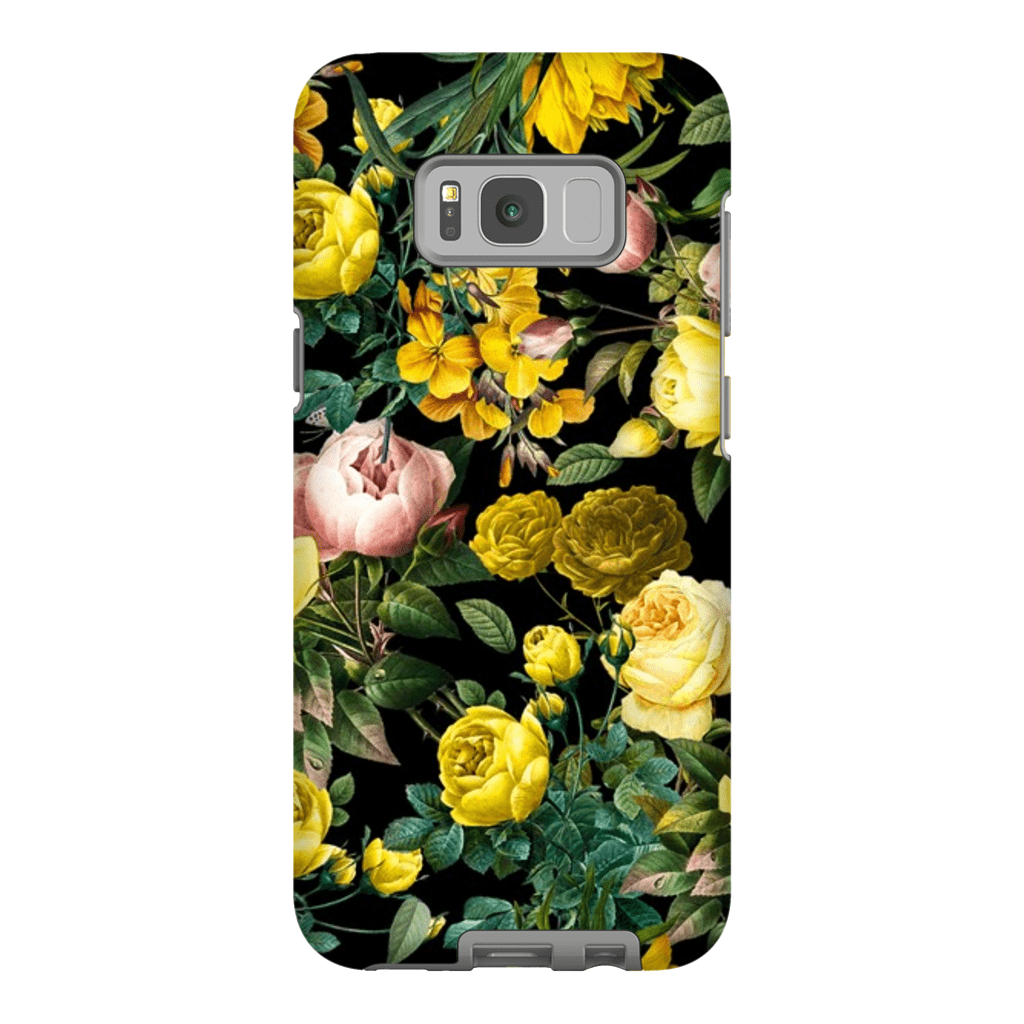 Yellow Rose Bush Galaxy S8 and S8 Plus Tough Case - Purdycase