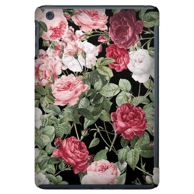 Pink Red Rose iPad 3/4, iPad Mini 1 and iPad Mini 4 Tablet Case - Purdycase