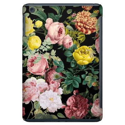 Pink Floral Bush iPad 3/4, iPad Mini 1 and iPad Mini 4 Tablet Case - Purdycase