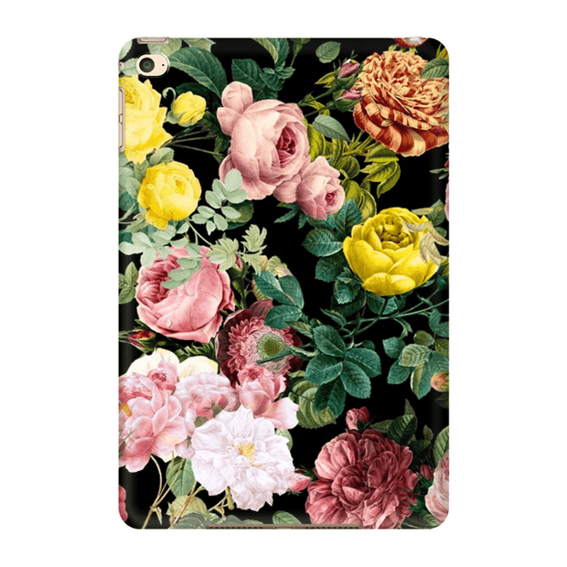 Pink Floral Bush iPad 3/4, iPad Mini 1 and iPad Mini 4 Tablet Case