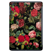 Red Floral Bush iPad 3/4, iPad Mini 1 and iPad Mini 4 Tablet Case