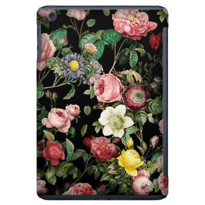 Pink Roses Bush iPad 3/4, iPad Mini 1 and iPad Mini 4 Tablet Case - Purdycase
