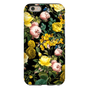 Yellow Rose Bush iPhone 5SE-8 Plus Series Tough Cases
