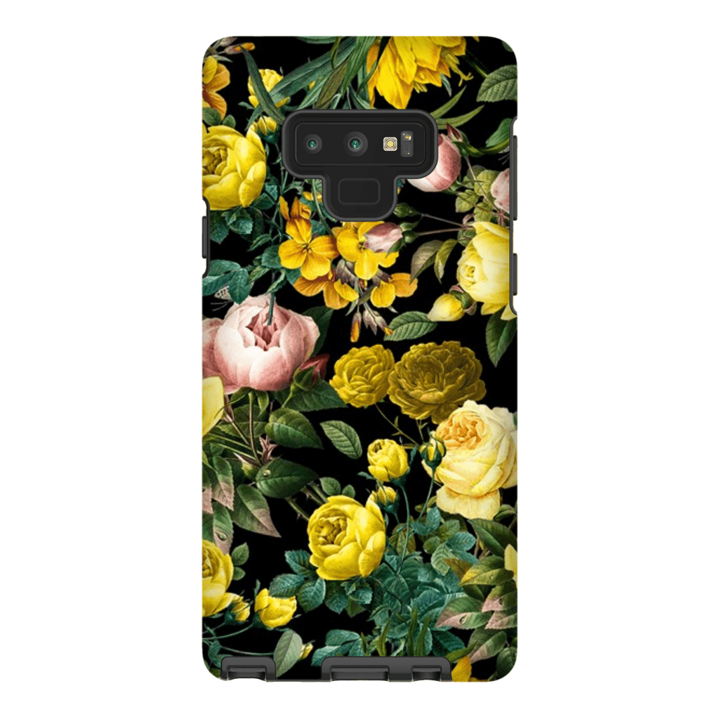 Yellow Rose Bush Galaxy Note 8 and 9 Tough Case - Purdycase