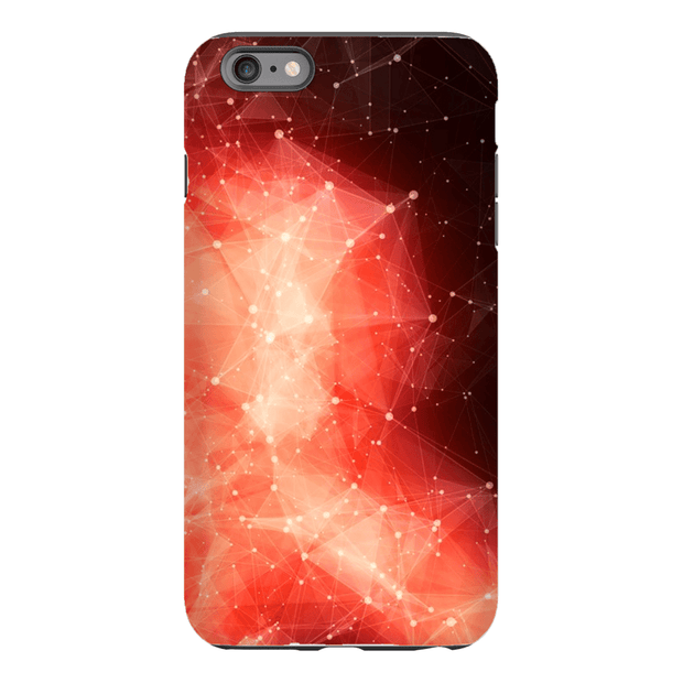 Orange Space iPhone 6 Series Tough Case