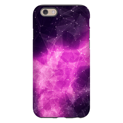 Purple Fire Nebula iPhone 6 Series Tough Case