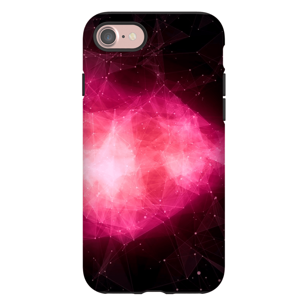 Space Nebula Pink iPhone 7 Series Tough Case - Purdycase