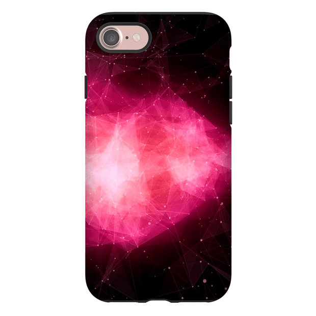 Space Nebula Pink iPhone 7 Series Tough Case