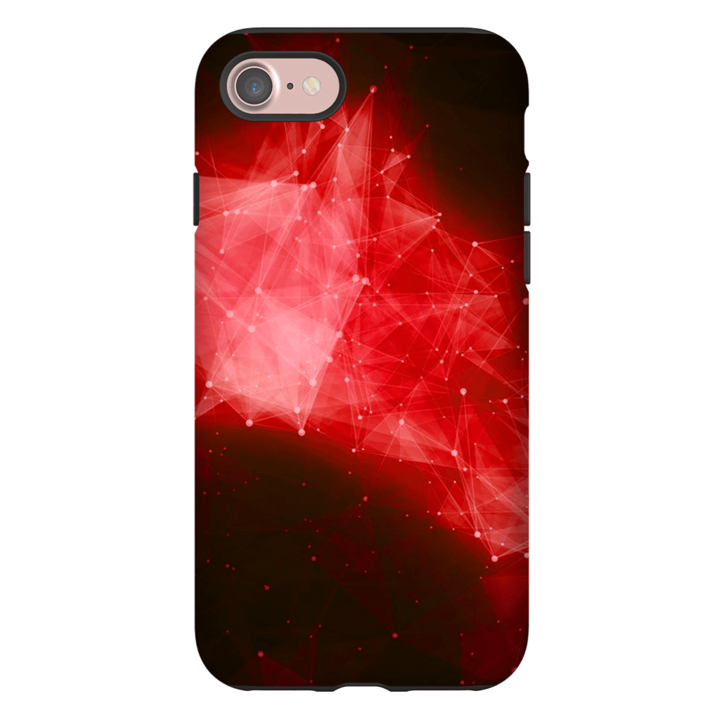 Red Space Nebula iPhone 7 Series Tough Case - Purdycase